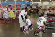 """Shop with a Titan"" with Tennessee Titan Kamerian Wimbley and other Titans players"